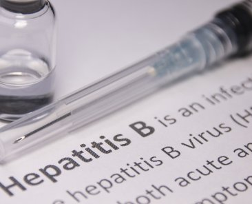 Hepatitis B vaccination.