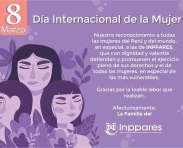 xx Tarjeta Dia de la Mujer